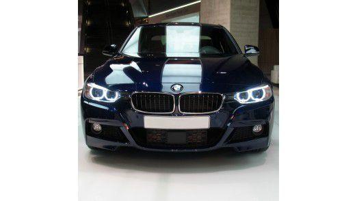 Unter Dienstwagenfahrern begehrt: Der BMW 3er.
