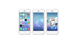Neues Design, AirDrop, Control Center, Flickr: Erster Test: Apple iOS 7 auf dem iPhone 5 - Foto: Apple