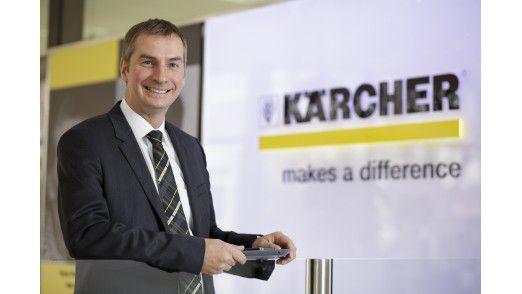 """Für seine Arbeit bei den Stadtwerken Düsseldorf erhielt Matthias Mehrtens 2011 den begehrten Titel """"CIO des Jahres"""". Heute arbeitet er bei Kärcher."""