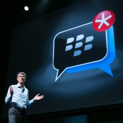 Der Dienst Blackberry Messenger zählt zu den wichtigsten Assets der Company.