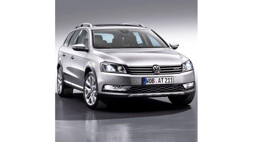 Die beliebteste Marke für Dienstwagen ist Volkswagen. Das beliebteste Modell ist der Passat.