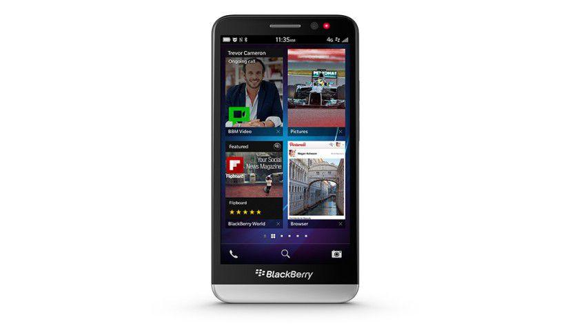 BlackBerry Z30: Das neue Smartphone setzt auf einen 5-Zoll-Bildschirm.