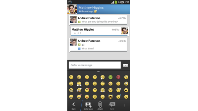 Blackberry Messenger: Apps für Messaging-Dienst BBM 10 Millionen Mal geladen - Foto: Blackberry