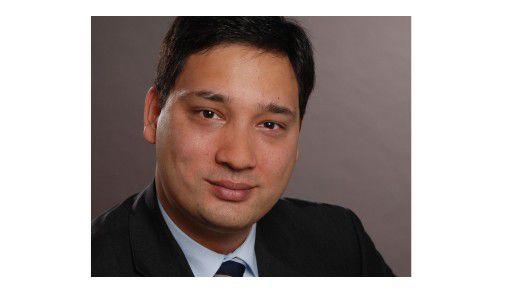 Cura-CIO David Ong hält seine Mitarbeiter zum Netzwerken an.