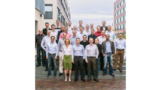 Die Klasse von 2013: Der zweite LEP-Jahrgang auf dem neuen Campus der WHU in Düsseldorf.