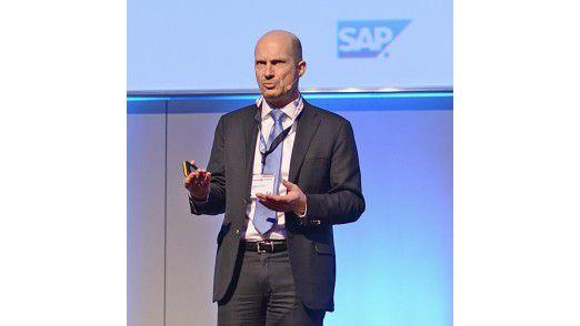 Marcus Frantz, Group CIO der OMV, auf den Hamburger IT-Strategietagen 2014.