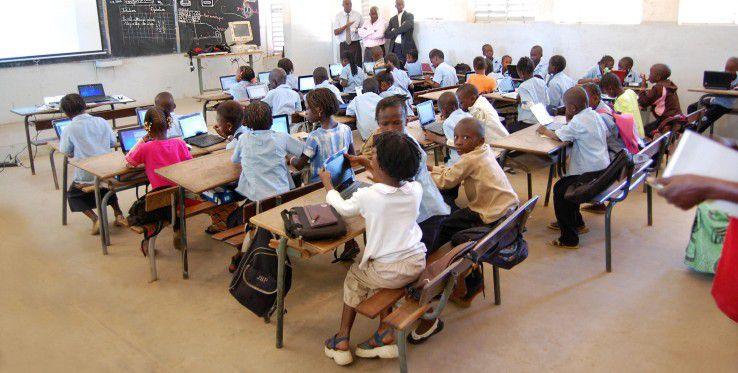 So funktioniert IT: Unterricht in Kaolack, Senegal.