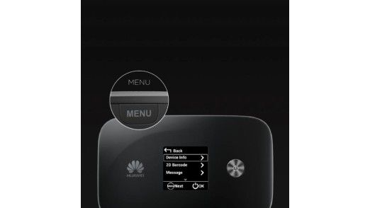 Der LTE-Hotspot Huawei E5786.