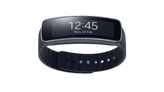 Smartwatch mit gebogenen Display: Samsung stellt Gear Fit vor - Foto: Samsung