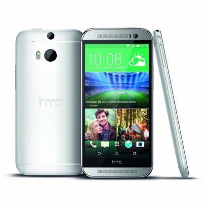 Das HTC One M8 ist künftig auch mit dem Betriebssystem Windows Phone erhätlich.