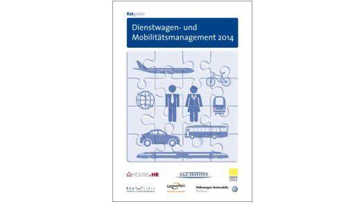 """""""Ratgeber Dienstwagen- und Mobilitätsmanagement 2014"""", F.A.Z.-Institut für Management-, Markt- und Medieninformationen, Mai 2014, 144 Seiten, ISBN-13: 978-3-89981-313-5, 29,90 Euro."""
