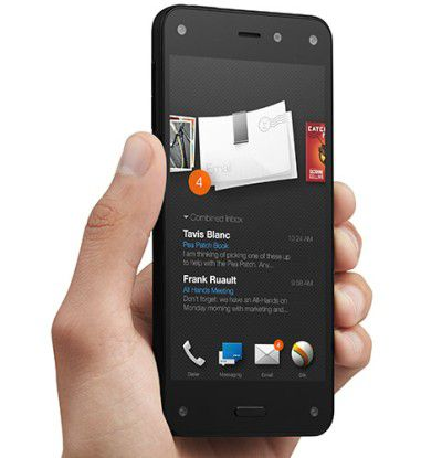 Das Fire Phone von Amazon.