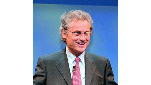Henning Kagermann, der Vorsitzende der Nationalen Plattform Elektromobilität (NPE)