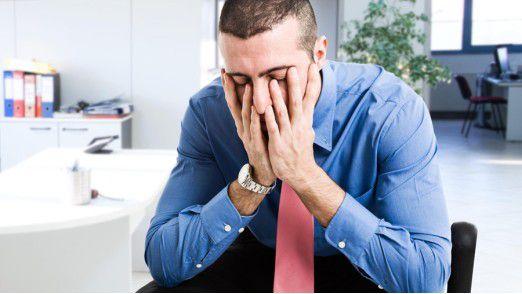 (Aus-)brennen für den eigenen Betrieb: Gerade sehr Leistungsbereite sind burnoutgefährdet.