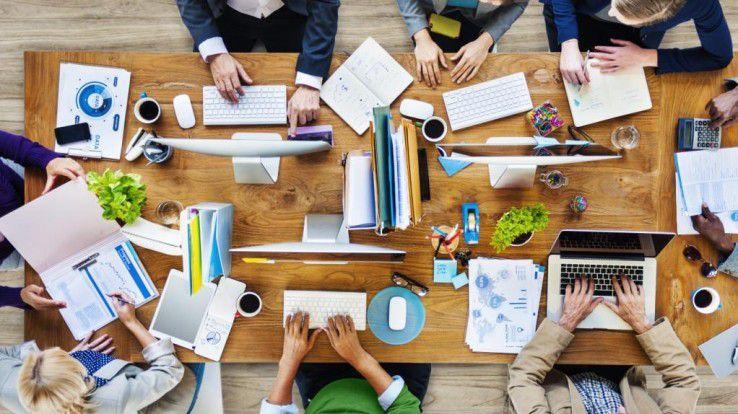 Meetings fördern die Kommunikation und den Zusammenhalt im Team.