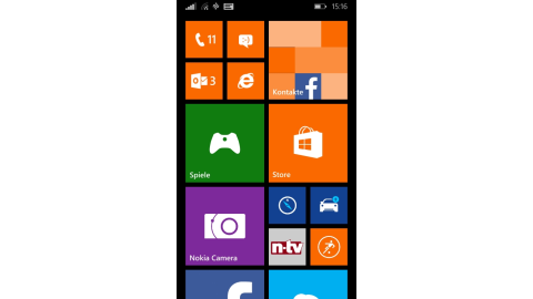 Windows Phone 8.1 auf dem Nokia Lumia 630