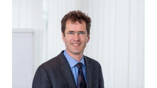 Michael Kraus ist neuer Leiter des Klinikrechenzentrums am Universitätsklinikum Freiburg.
