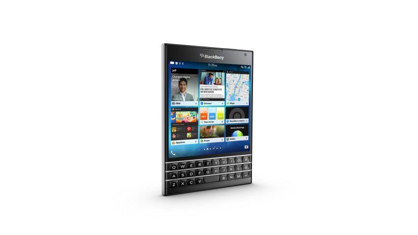 Der Blackberry-Passport sieht interessant aus - und lässt sich überraschend gut bedienen.