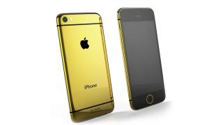 Pimp your iPhone 6: Das iPhone 6 in Gold - Foto: Goldgenie