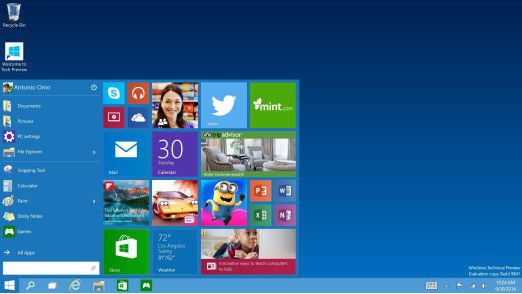 Problematik Datenschutzbestimmungen: Windows 10 Technical Preview: Microsoft sammelt Daten - Foto: Eric Tierling