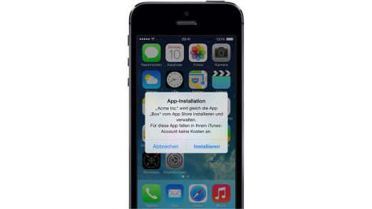 Die Apps lassen sich auf die Anwender einfach ausrollen.