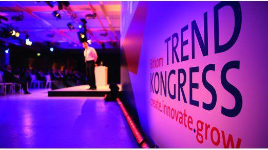 """Der Bitkom Trendkongress fand im Veranstaltungszentrum """"Station"""" in Berlin am Gleisdreieck statt."""