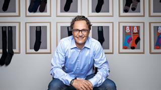 """Interview: Samy Liechti: """"Männer sind zu faul, um Socken zu kaufen"""" - Foto: BLACKSOCKS SA"""