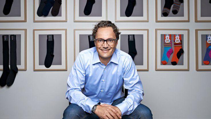 Samy Liechti, Gründer und Geschäftsführer von Blacksocks