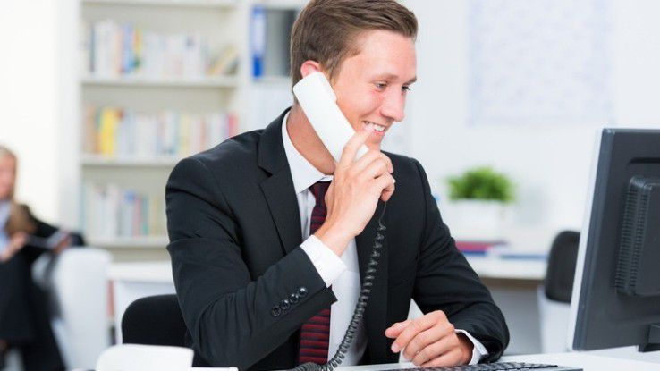 Wer ein paar Dinge beachtet, kann Telefongesprächen ganz entspannt begegnen.