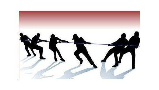 In Teams ziehen häufig nicht alle an derselben Seite des Strangs.