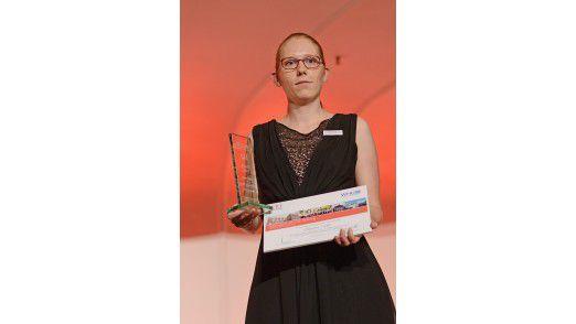 IT-Mitarbeiterin Claudia Liebl von Siemens Financial Services gewann den CIO Young Talent Award und damit zugleich ein Stipendium für das Part-time MBA Programm der WHU - Otto Beisheim School of Management.