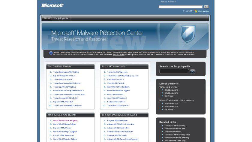 Eigeninitiative: Microsoft will sich offensichtlich nicht mehr auf die Portale anderer verlassen und kontert.