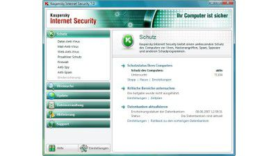 Test: Kaspersky Internet Security 7.0