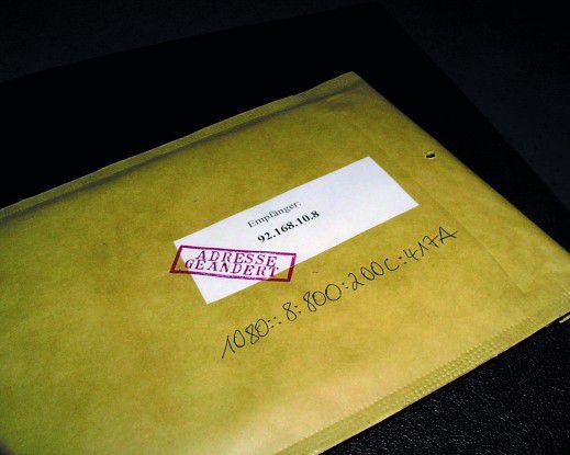 Trotz geänderter Adresse muss die Auslieferung auch mit IPv6 gewährleistet sein.
