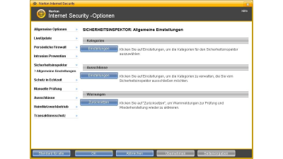 Security Software im Test: Norton Internet Security 2008