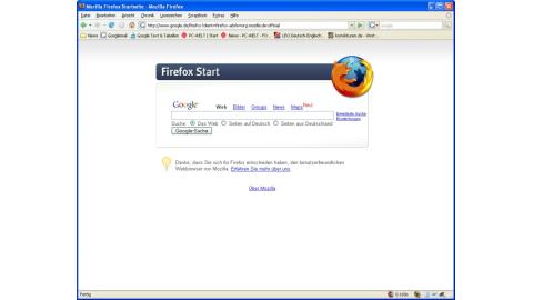 Die Vorteile von Firefox