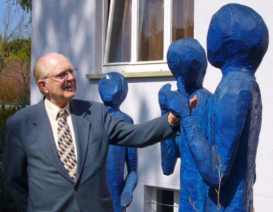 Wolfgang Heilmann fördert Kunstprojekte.
