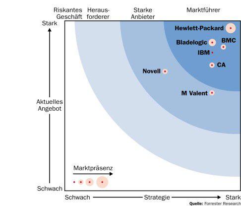 Die geplante Übernahme von Bladelogic dürfte BMC in eine deutlich bessere Position zu Hewlett-Packard bringen.