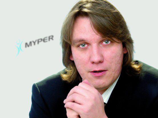 """Dirk Wellmann, Myper: """"Als Internet-Unternehmer ohne Eigenkapital ist man in Deutschland aufgeschmissen."""""""