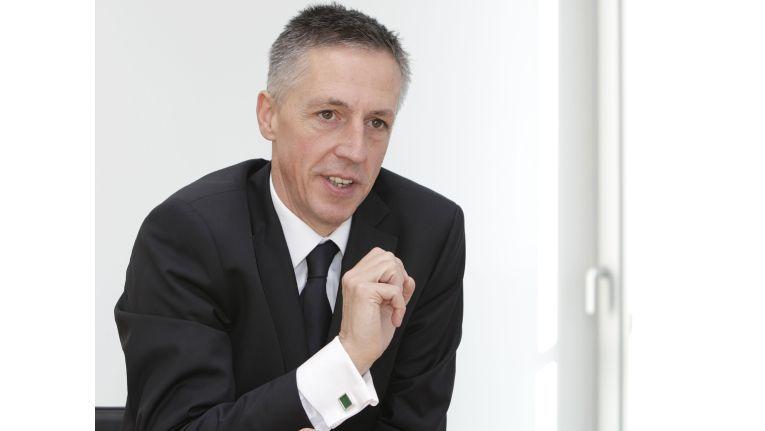 HPs Deutschland-Chef Volker Smid sieht HP durch die Akquisition von EDS deutlich gestärkt.
