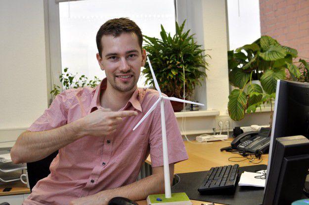 """Andre Schade, Drehpunkt: """"Es macht Spaß, in einer jungen und dynamischen Branche zu arbeiten."""""""