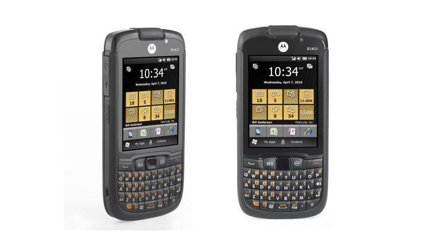 Professionell: Bei Business-Geräten wie dem neu vorgestellten Motorola ES400 liegt die Priorität auf Eigenschaften wie Sicherheit und Verwaltbarkeit. (Quelle: Motorola)