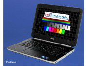 Dell Latitude E5420: Das 14-Zoll-Display des Testmodells arbeitet mit 1366 x 768 Bildpunkten. Es ist auch eine Displayvariante mit einer Auflösung von 1600 x 900 Bildpunkten erhältlich.