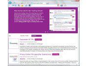 Sichtschutz: Microsoft bietet Tracking-Schutzlisten verschiedener Organisationen an, die sich als Plug-in in den Internet Explorer integrieren.