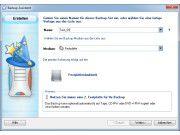 Komplette Backup-Lösung: Z-DBackup bietet viele Funktionen und einen Assistenten für neue Backup-Sets.