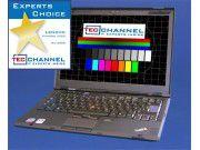 Lenovo ThinkPad X300: Das 13,3-Zoll-Display arbeitet mit WXGA+-Auflösung und LED-Hintergrundbeleuchtung.