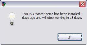 Nur für Linux kostenlos: Windows-Anwender können das Programm 15 Tage ohne Einschränkungen nutzen. Danach kostet ISO Master 20 US-Dollar.